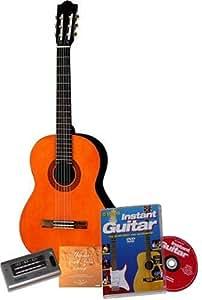 Yamaha C40-BP Guitarra clásica (Basic Pack) [importada de Inglaterra]