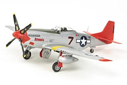 Tamiya - 25147 - Maquette - Aviation - P-51d Mustang Tuskegee