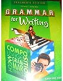 img - for Grammar for Writing: Level Green (Teacher's Edition) book / textbook / text book