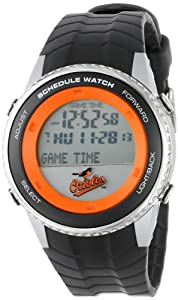 Buy Game Time Mens MLB Schedule Series Watch - Baltimore Orioles by Game Time