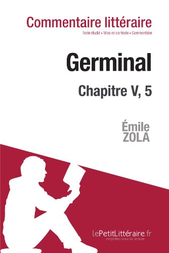 germinal de zola incipit commentaire marine everard le
