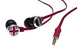 Mini Cooper Plug in Headphone with Mic with push to talk function-officially licensed by BMW Mini Cooper