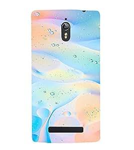 PrintVisa Modern Art Water Dew Pattern 3D Hard Polycarbonate Designer Back Case Cover for Oppo Find 7