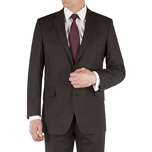 Suit Direct Pierre Cardin Black Multi Stripe Suit - Classic Regular Fit Two Piece Suit