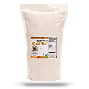 10lb. Organic, Sprouted Wheat Flour