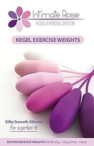 Amazon.com: Premium Silicone Kegel Exercise Weights with 6 ...