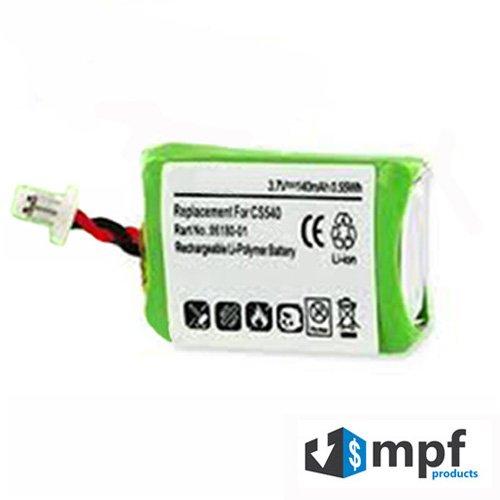 Replacement 140mAh 86180-01 84479-01 Battery for Plantronics CS540, CS540A & CS540-XD Wireless Headsets
