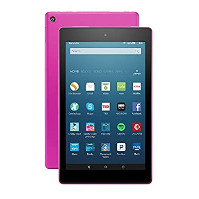 "All-New Fire HD 8 Tablet, 8"" HD Display, Wi-Fi, 32 GB - Includes Special Offers, Magenta"