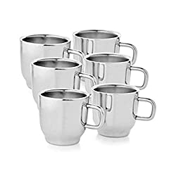 Tip Top Steel Double Wall Cup set of 6