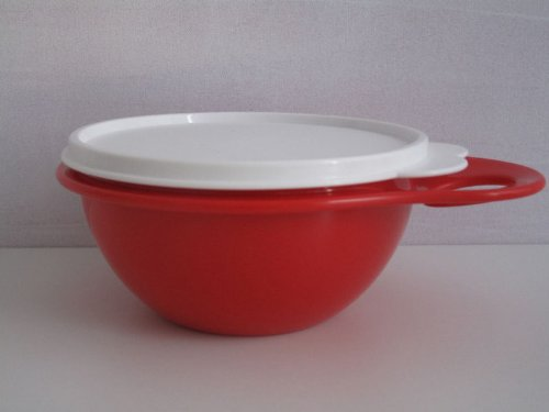 TUPPERWARE Salat Bar Mini Mix Schüssel rot 600 ml bowl Salatbar