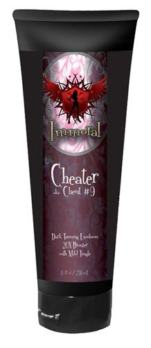 Immoral Tanning Lotion, Cheater, 8 Fluid Ounce