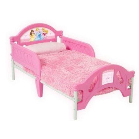 Disney Princess Toddler Bed 2653 front