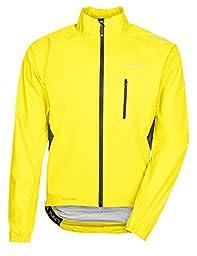 VAUDE Men\'s Spray IV Jacket, Canary, Large