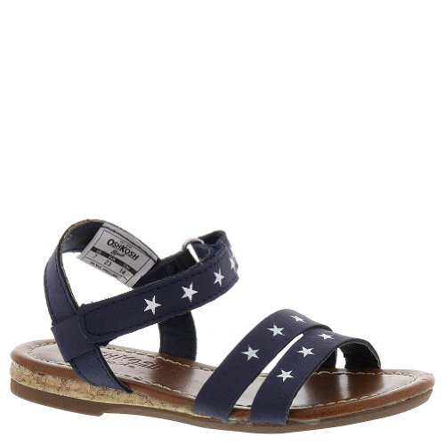 Oshkosh B'Gosh Lucy Sandal (Toddler/Little Kid),Navy,10 M Us Toddler front-211881