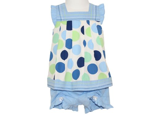 Togs By Teddy Baby Girls Dress Top & Shorts Set - 18-24 Months