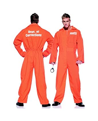 Cool Orange Prison Jumpsuit Costumes  EBay