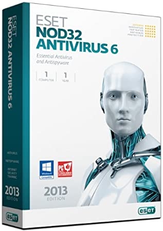 NOD32 Antivirus Version 6 - 1 User
