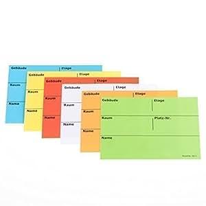 BB-Verpackungen Umzugsetiketten, 50 Stück, 105 x 75 mm, selbstklebend, rückstandslos ablösbar , Umzug Aufkleber Etikett (grün)