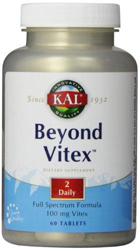 Kal Beyond Vitex Tablets, 60 Count