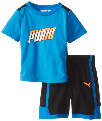 PUMA Little Boys' Toddler Formstrip Perf Set, Radiant Blue, 4T