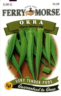 What is the nutritional value of okra?