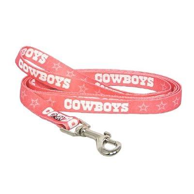 Hunter MFG Dallas Cowboys Pink Dog Leash