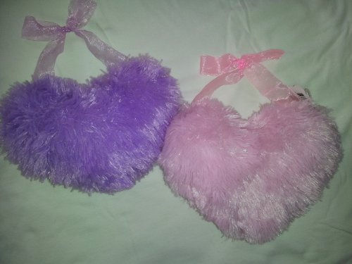 Cuddly Cousins Plush Heart (Pink and Purple)