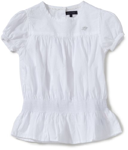 Tommy Hilfiger Girls Blouse Age 6 Classic White