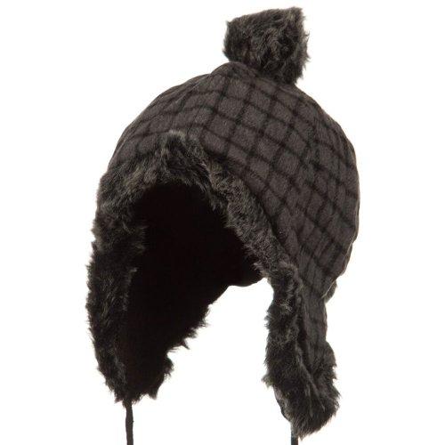 Woman's Winter Trooper Hat - Grey W28S58C