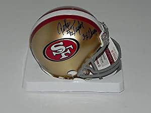 John Taylor Signed Mini Helmet - 49er 3x champs #w595466 - JSA Certified -... by Sports Memorabilia