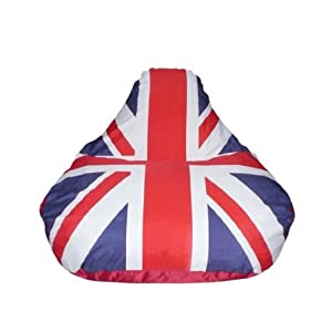 Xpandacush Bean Bag Sofa Chair Union Jack Amazon Co Uk