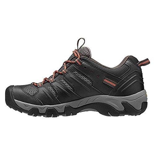 Keen ,  Scarpe da camminata ed escursionismo uomo Verde Oliva nera, Verde (Oliva nera), 43