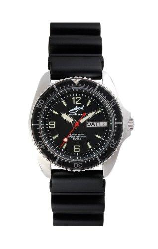 Chris Benz One Medium CBM-S-SW-KB Reloj unisex Reloj de Buceo