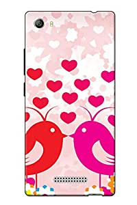 Accedere Printed Back Cover For Micromax Canvas 5 E481