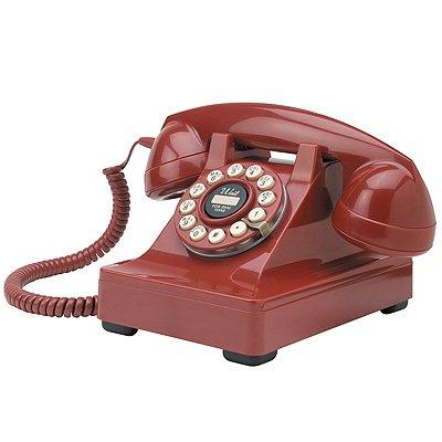 Crosley 302 Red Desk Phone (CR60-RE)