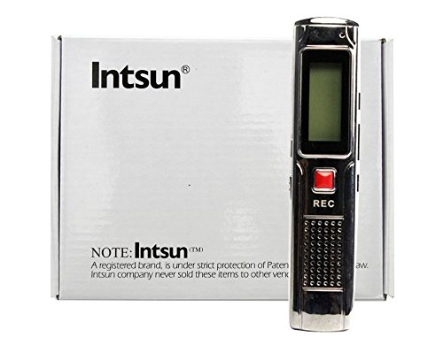 Intsun® Multifunctional Digital Mini Portable Rechargeable 8Gb 4Gb Audio Voice Recorder Pen With U Disk Function Dictaphone With Mp3 Player Fm And Usb Connection Support Mp3, Wma, Mp1, Mp2 Format, Wav Format Recording (8G)