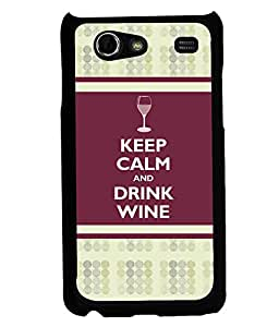 Printvisa 2D Printed Quotes Designer back case cover for Samsung Galaxy S Advance SM - I9070 - D4388