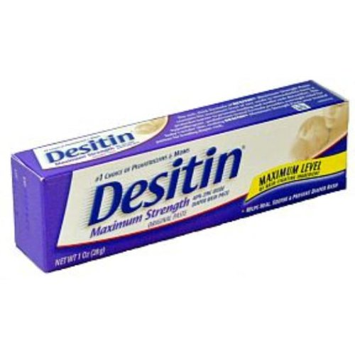 Desitin Maximum Strength Diaper Rash Paste - Case Pack 12 Sku-Pas571834