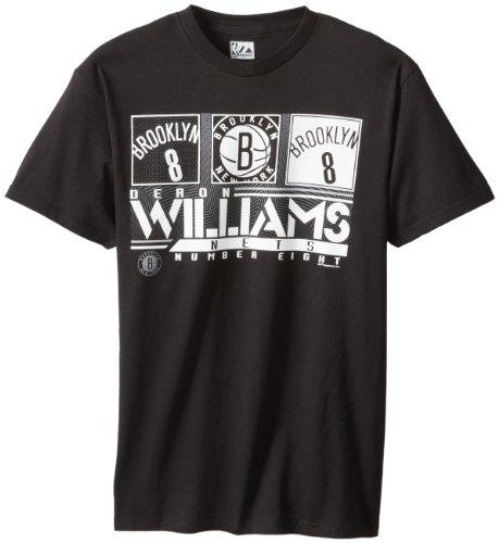Nba Brooklyn Nets Men'S Deron Williams 8 The Big Leagues Tee Shirt