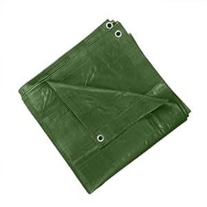 JAROLIFT Abdeckplane - Gewebeplane / 3 x 4 m / Polyethylen-Gewebe 90 g/qm / grün