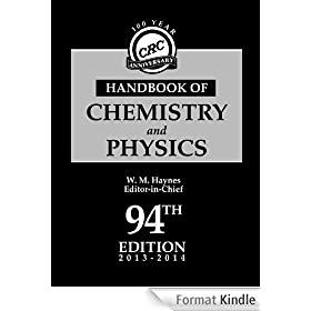 CRC Handbook of Chemistry and Physics, 94th Edition