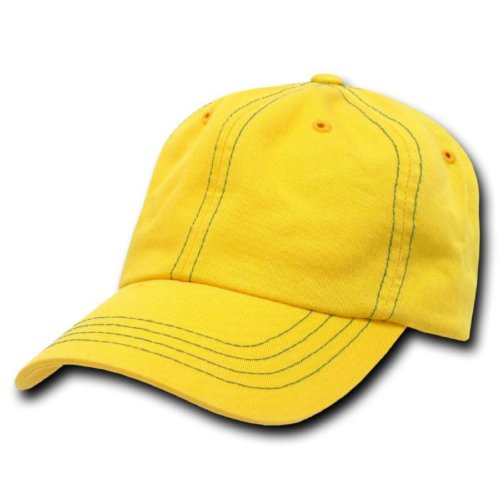 yellow polo hat