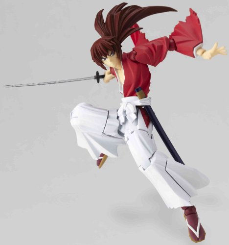 Rurouni Kenshin : Revoltech 109 Kenshin Himura Action Figure