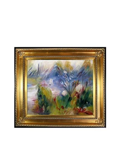 Pierre Auguste Renoir Paysage Bords De Seine Oil Painting