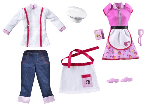 Barbie I Can Be Restaurant Fashion Pack