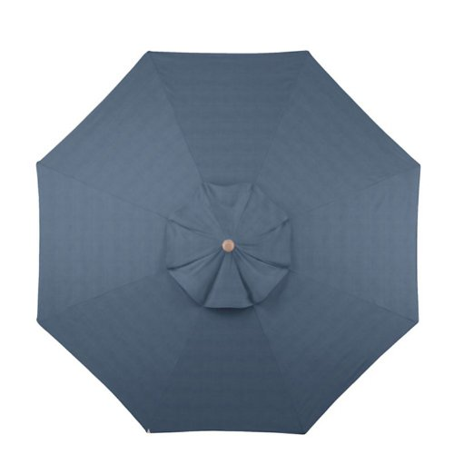 where to buy 9 patio umbrella replacement canopy spa blue sunbrella ballard designs baqi. Black Bedroom Furniture Sets. Home Design Ideas