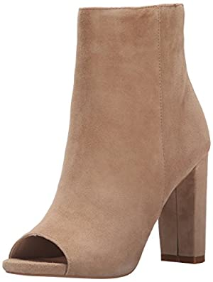 Steve Madden Women's Mannzo Boot, Taupe Suede, 6 M US