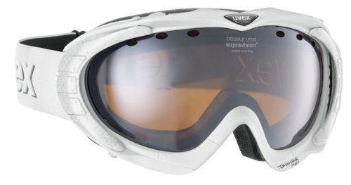 UVEX TOMAHAWK PRO SNOWBOARD-/SKIBRILLE POLARWHITE MAT