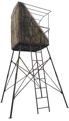 Big dog quad pod 14 2 person stand tree stands for sale cheap