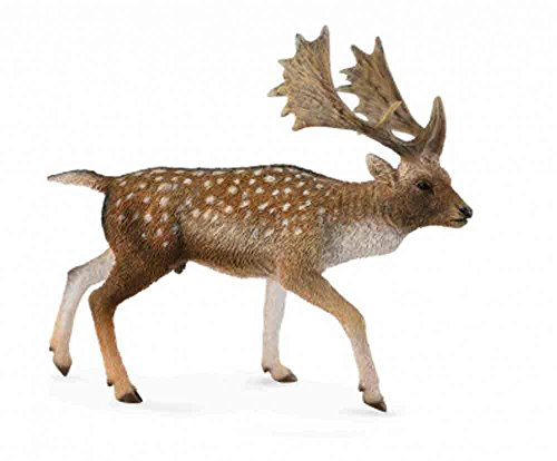 Collect A Woodlands Fallow Deer Male Toy Figure - 1